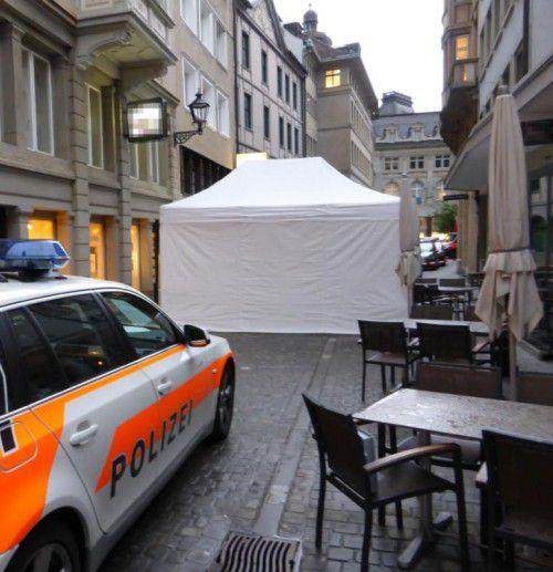 Der Tatort in St. Gallen: Der Mord an Spahiu Haki dürfte nun geklärt sein.