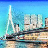 Beeindruckende Erasmusbrücke