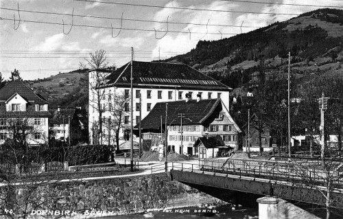 Die alte Sägerbrücke ums Jahr 1926.