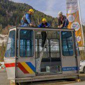Generalsanierte Kristbergbahn geht in Betrieb