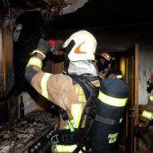 87-Jährige vor Feuer gerettet