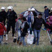 Griechenland räumt das wilde Lager bei Idomeni