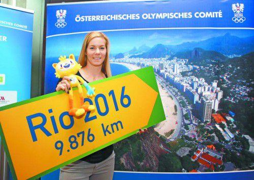 Die Olympia-Finalteilnahme ist im Visier: Beate Schrott.