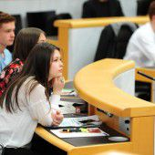 Landesparlament in Schülerhand