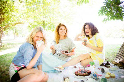 """Die Schwestern Isabel, Vanessa und Sarah aus Schruns haben 2011 die """"Guerilla Bakery"""" gegründet."""