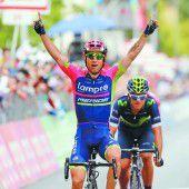 Zweiter Etappensieg beim Giro für Ulissi