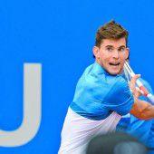 Thiem möchte Federer fordern
