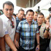Philippinischer Präsident für die Todesstrafe
