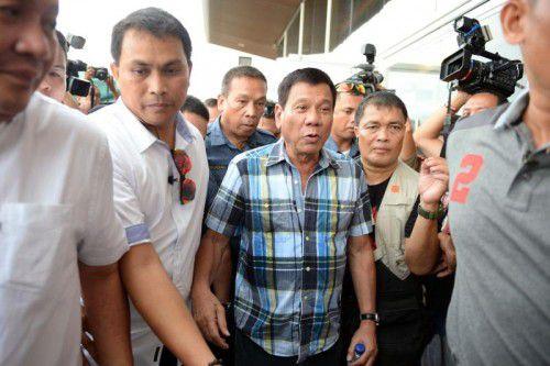 Duterte: Todesschüsse auf Verbrecher sollen erlaubt sein.