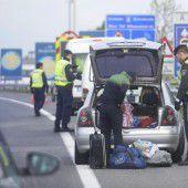 EU empfiehlt längere Grenzkontrollen