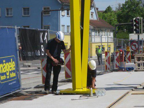 Ein Großprojekt ist die Sägerbrücke in Dornbirn.
