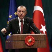 Erdogan hält am EU-Beitritt fest