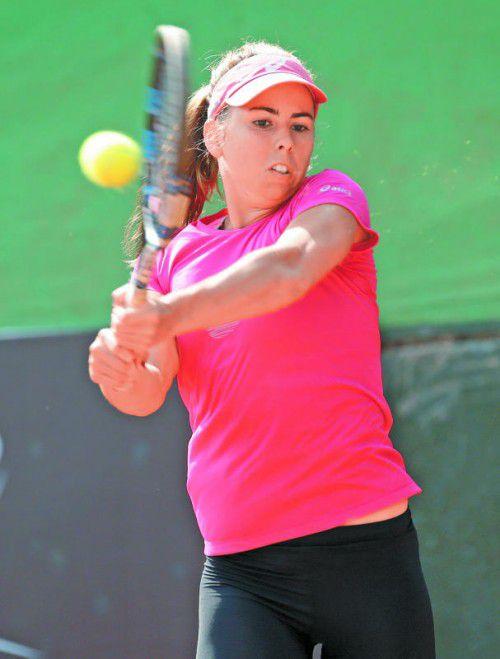 Erste Niederlage nach sechs Siegen in Serie: Julia Grabher.