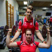 Training und Betreuung im Olympiazentrum