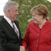 Auf Abschiedstour bei Merkel und Gauck