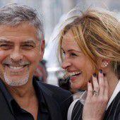 Clooney und Roberts in Cannes