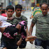 Hochwasser und Erdrutsche
