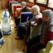 Roboter in chinesischem Pflegeheim