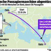 Spekulationen nach Flugzeugabsturz