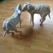 Tierische Kunst von Tone Fink