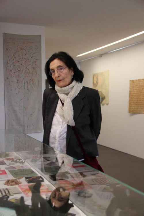 Flucht und Migration sind aktuell die großen Themen der Hohenemser Künstlerin Mariella Scherling-Elia.