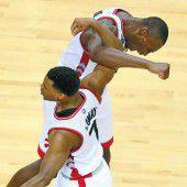 Toronto konnte gegen Cleveland ausgleichen