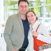 Gästepaar: Petra und Thomas Pachole.