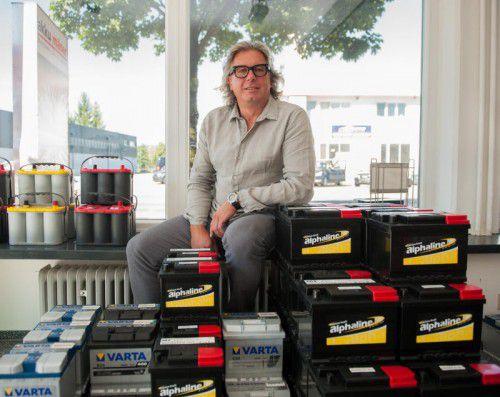 Gründer und Geschäftsführer Norbert Mäser. Foto: VN