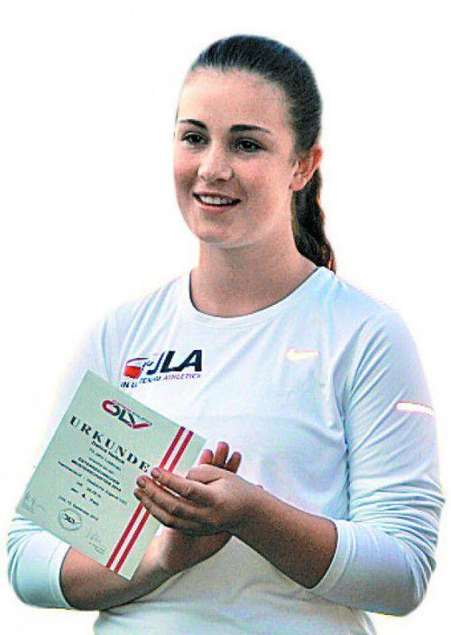 Hammerwurf-Rekordhalterin Dalina Helbok.