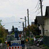 Binsenfeldstraße wird jetzt sicherer gestaltet