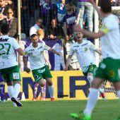 1:1-Unentschieden im Duell der beiden Austria-Klubs