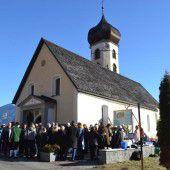 Außensanierung für Pfarrkiche in Bürserberg
