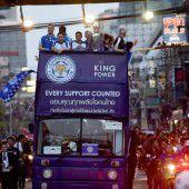 Leicester feiert auch in Bangkok