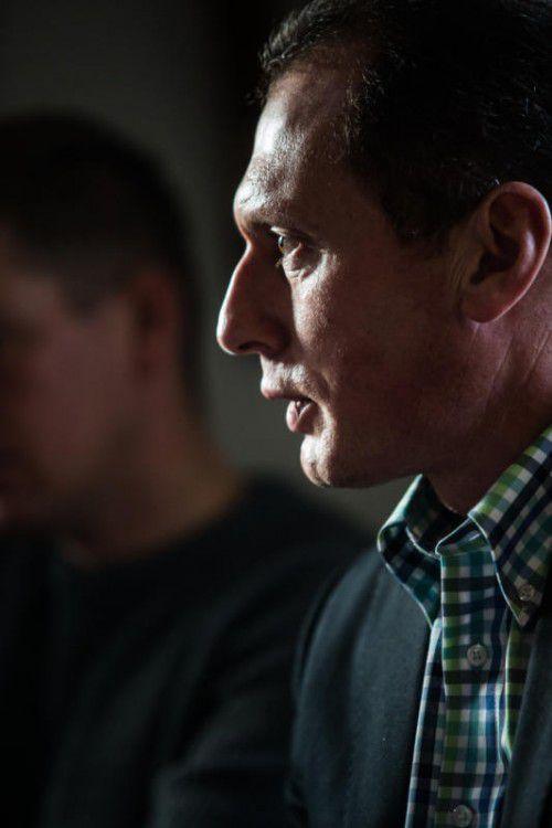 Josef Moosbrugger blickt neuen Herausforderungen entgegen. Vn/Steurer