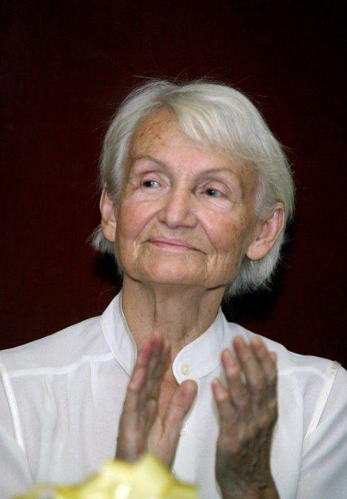 Margot Honecker bei einem Besuch in Nicaragua 2008.