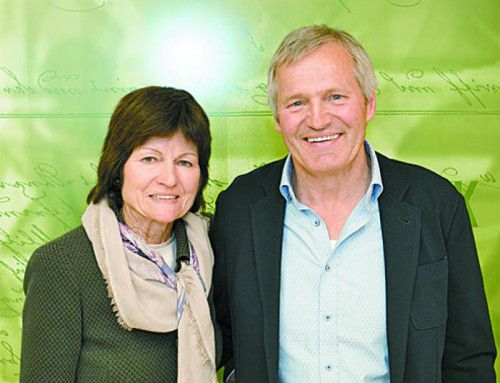 Maria und Hans Fink genossen den Abend.