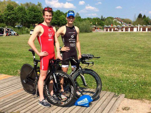 Martin Bader (l.) und Paul Reitmayr.