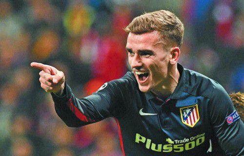 Mit seinem siebenten CL-Tor in dieser Saison schoss der Franzose Antoine Griezmann Atlético in das dritte CL-Finale der Klubgeschichte.