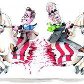 Richtungsentscheidung bei der Präsidentschaftswahl