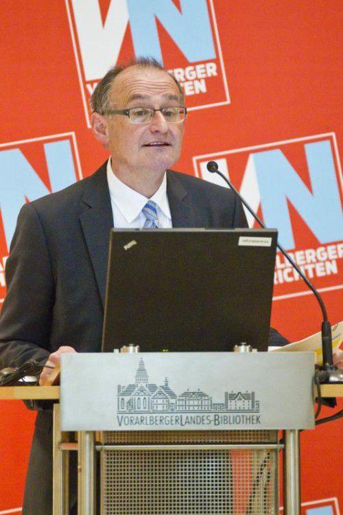 "Peter Bußjäger: ""Am Ende wird der Ausschuss froh sein, wenn er einen halbwegs aussagekräftigen Bericht zusammenbekommt."""