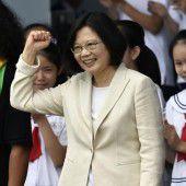 Chinakritische Präsidentin in Taiwan vereidigt