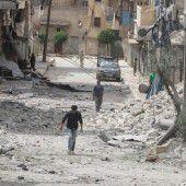 Waffenruhe in Aleppo nach harten Gefechten