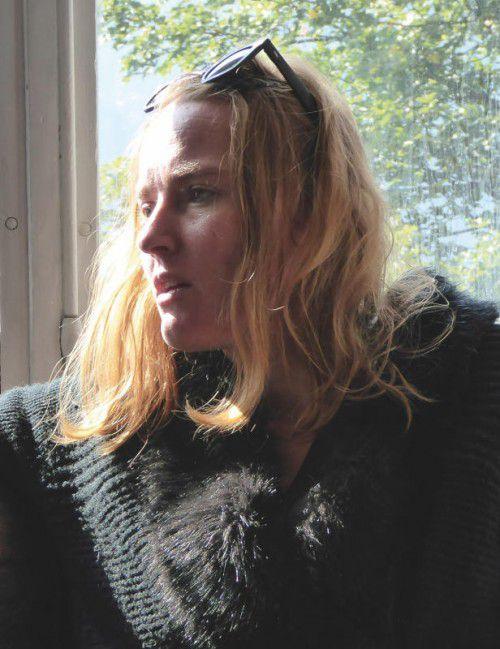Sabine Hunziker legte den ersten Roman vor.