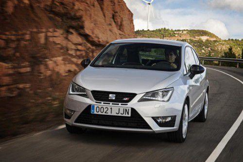 Seat Ibiza: In der Cupra-Version bringt's der Spanier auf 192 PS aus einem 1,8-Liter-Vierzylinder-Turbobenziner.