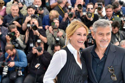 """Sehenswert ist der in Cannes präsentierte Film """"Money Monster"""" wegen seines dynamischen Star-Duos: Die Rolle eines zynischen Showmasters hat George Clooney, Julia Roberts agiert perfekt im Regieraum."""