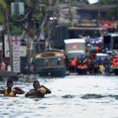 400.000 Menschen  in Notunterkünften