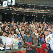Justin Gatlin lief in Peking zum nächsten Sieg