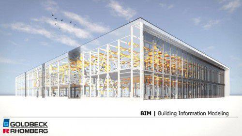 So kann sich der Laie BIM vorstellen. Der Planungsprozess im Bau soll noch effizienter werden.