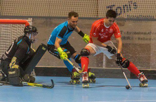Die beiden Rollhockey-Hochburgen Dornbirn und Wolfurt feierten eine perfekte Ausbeute im Achtelfinale des Schweizer Cups.Paulitsch