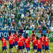 Großer Rummel um den Fußball-Europameister